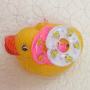 New Duckie bath time set